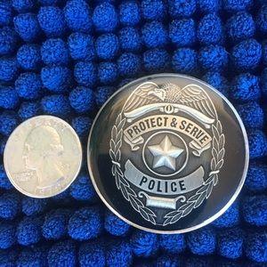 2in. Police Medallion
